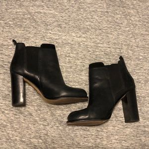 Sam Edelman Black Heeled Boots